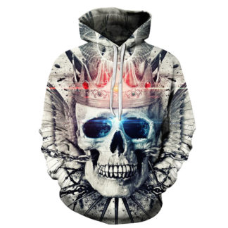 Sweat-Shirt-Tete-de-Mort-Iban