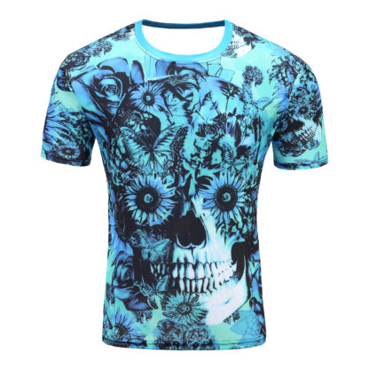 Tee-Shirt-Tete-de-Mort-Hadriano