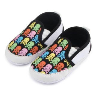 Chaussure-Bebe-Tete-de-Mort-Eilo