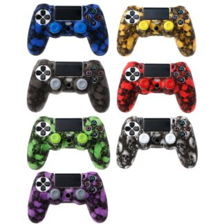 Coque-de-Protection-Manette-PS4-Tete-de-Mort