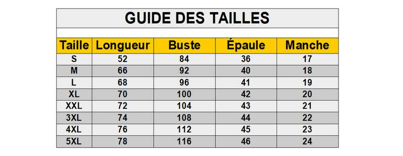 Guide-des-tailles-Tee-Shirt-II