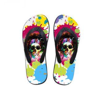 Chaussure Tête de Mort