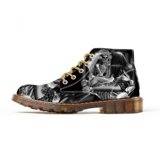 Boots-Tete-de-Mort-Bergea