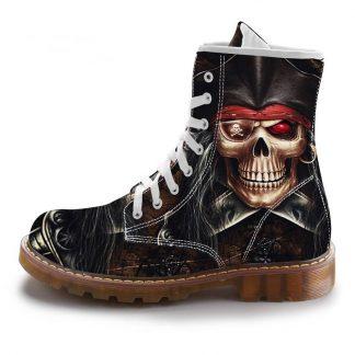Boots-Tete-de-Mort-Bermia