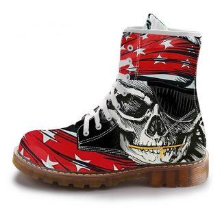Boots-Tete-de-Mort-Bernor
