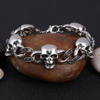 Bracelet-Tete-de-Mort-Hekate