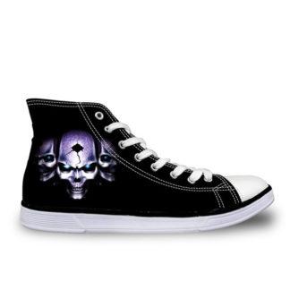 Chaussure-Montante-Tete-de-Mort-Polan