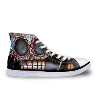 Chaussure-Montante-Tete-de-Mort-Polina