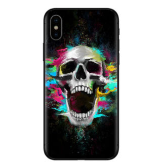Coque Iphone Tête de Mort