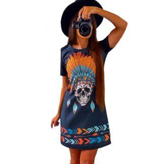 Robe Tête de Mort