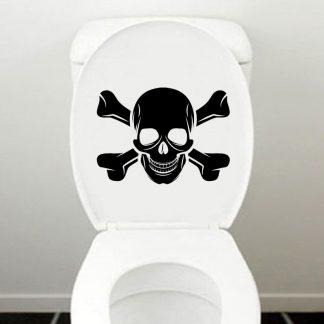 Autocollant-Abattant-WC-Tete-de-Mort-Tiresias