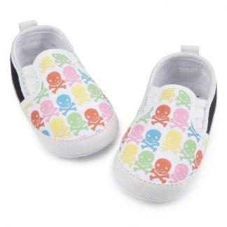 Chaussures Bébé Tête de Mort