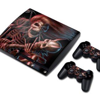 Autocollant-Playstation-3-Tete-de-Mort-Arin
