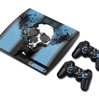 Autocollant-Playstation-3-Tete-de-Mort-Arion