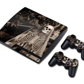 Autocollant-Playstation-3-Tete-de-Mort-Aristides