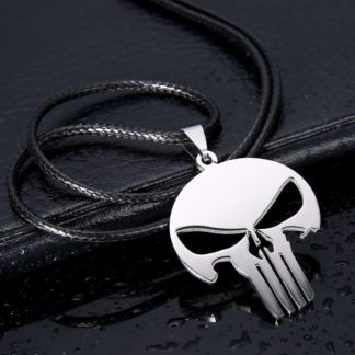 Collier-Pendentif-Punisher-Drakon