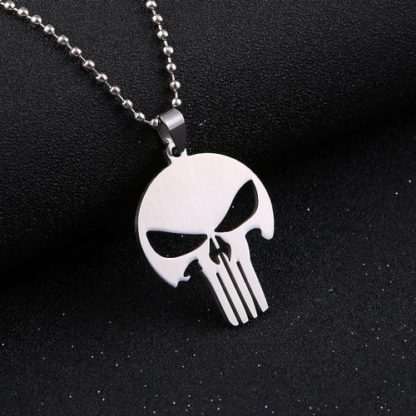 Collier-Pendentif-Punisher-Druso