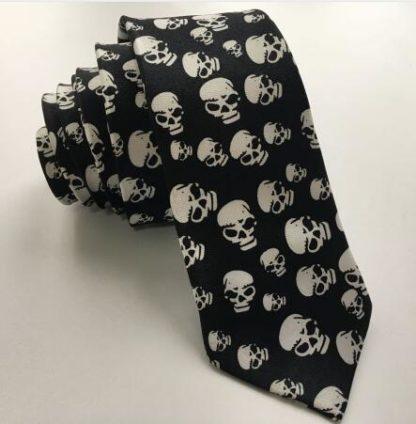Cravate-Tete-de-Mort-Bertolo-a